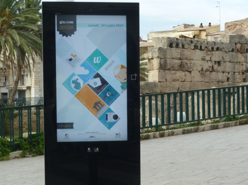 Comune di Ragusa-Digital Signage